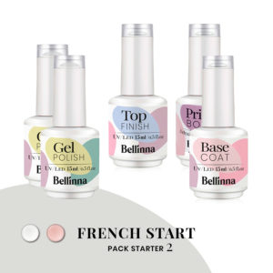 Pack Starter 2 Bellinna Cosmetics FRENCH START